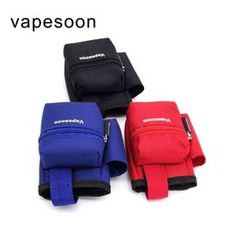 Wholesale Vapor Bag Carrying Case - E Cig Bag Case Box Mod Pouch Box Mod Carrying Case Various Contain Mod RDA Bottle and Batteries Vapor Pocket Wholesale DHL Free