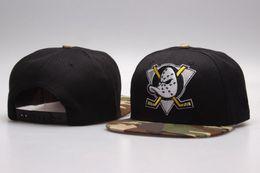 Wholesale Paper Baseball - 2017 best quality Bones Snapback Hats Ducks bone cap Flat Fashion nhl Hats sports Cheap baseball mens and women caps