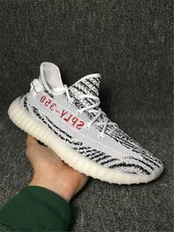 Wholesale Original Rubber Table - 350 Boost V2 Zebra Releases Running Shoes Sneakers Sply Boost 350V2 Kanye West 350 Boosts White Black Red With Original Box 2017 New