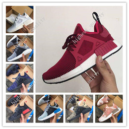 Wholesale Canvas Flats Shoes Kids - Mens & Women NMD XR1 Glitch Black White Blue Camo Runing Shoes Adult And Children Men Women Baby Kids Runing Shoes size 36-45 free shipping