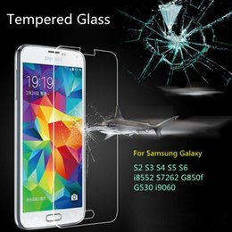 Wholesale S4 Full Cover - Tempered Glass For Samsung Galaxy S3 S4 S5 S6 G530 j3 j320 j7 j710 j5 j510 2016 Grand Prime Case Cover Film Screen Protector