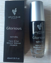 Wholesale Face Primer Best - Best Quality! Younique Glorious Natural Face & Eye Makeup Primer younique cosmetics 40ml Free Shipping