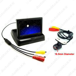 Wholesale Ccd Backup Camera System - FEELDO 4.3Inch Foldable TFT LCD Digital Monitor With CCD Reversing Backup Camera Car Rear View System #3788