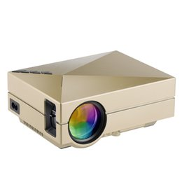 Wholesale 3d theater - Wholesale-GM60 Portable 3D Mini Projector Support 1920 x 1080 Home Video Proyector Home Theater Screen TV Beamer LED USB2.0 HDMI VGA SD