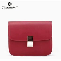 Wholesale Plain White Pillows - Fashion Bag Shoulder bag , Three colors including red , white ,and black ,Special For liadies ,Genuine leather,beautiful,pillow,single bag,