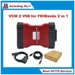 Wholesale Ids Ford Scanner Tool - New Arrive V98 VCM II IDS Diagnosis tool green single Board For Fd   Mazda VCM 2 VCM2 OBD2 Scanner Free shipping