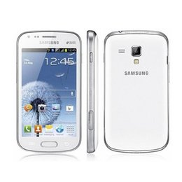 Wholesale Duo Core Phone - Refurbished Original Samsung GALAXY Duos S7562i 4.0inch TFT Screen 4G ROM Android OS WIFI GPS Blluetooth 3G WCDMA Unlocked Cell Phones