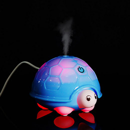 Wholesale Turtle Oil - New Arrival Turtle Ultrasonic LED Humidifiers USB Aroma Diffuser Humidifier Essential Oil Diffuser Aromatherapy Mist Maker for Home Office