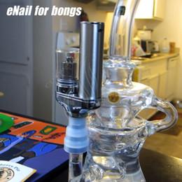 Wholesale Electric Vapors - Yocan Torch Portable eNail Vaporizer Kit Wax dry herb vape Pen Quartz Dual Coil Herbal vapor bong electric dab e cigarettes Nail bongs Kits