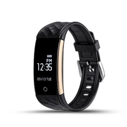 Wholesale Phone Call Tracking - Waterproof S2 sports Smart band heart rate monitor wristband For android IOS phone sports sleep tracking remote control PK FitBit Charge 2