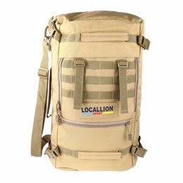 Wholesale Tactical Laptop - 2017 50L Outdoor Sport Women and Men Bag Mountaineering Tactical Backpacks Hiking Camping Travel Bags Camouflage Laptop Backpack