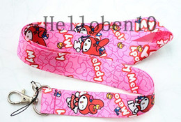 Wholesale Melody Accessories Wholesale - Hot sale new melody mobile phone accessories mobile phone lanyard cartoon chain, Shiping wholesale 100 free shipping
