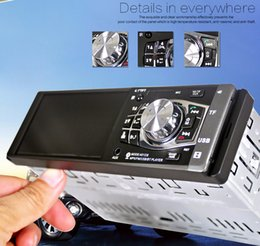 "Wholesale Car Mp5 - 4.1"" Bluetooth In-Dash Stereo Radio HD Car MP5 MP3 USB AUX Player Car DVD Function"