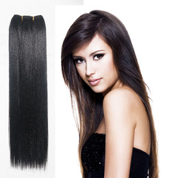 Wholesale Hand Straight Weft - High Quality Synthetic Hair 6 Colors Good Hair for Hand Feeling Free Shipping Most Popular Straight Hair Weft