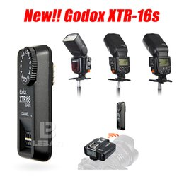 Wholesale Remote Flash Triggers - Wholesale- Godox 16 Channels XTR-16S Remote 2.4G Wireless Power-control Flash Trigger Receiver for V860 V850 (XTR-16S)