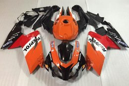 Wholesale Aprilia Bikes - New ABS Injection Mold motorcycle bike Fairings Kits +Tank cover For For Aprilia RS125 RS 125 2007 2008 2009 2010 2011 07 08 09 10 11 Repsol
