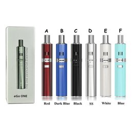 Wholesale Ego Battery S - Joyetech EGO ONE Starter kits ego one xl mini clr 1100mah 2200mah Battery EGO AIO ijust s Vaporizer Pen Ecigs Kit