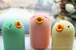 Wholesale Home Air Humidifier - 7.2*7.2*11.9cm 3 ColorsNew Mini Cartoon Cute Bird Humidifier Home Office Car Steam Air Mist Diffuser Portable Home Air Sprayer