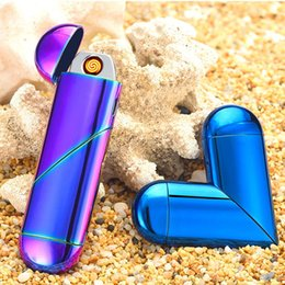 Nouveau coeur remodel remodelable USB double usage ci-garette électronique USB chargeant avec briquet à gaz briquet coupe-vent impulsion sans flamme novetly briquet ? partir de fabricateur