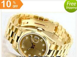 Wholesale Cheap Stainless Gold Watch - gold good man with brand new drop shipping Mechanical cheap High quality Automatic master men watch luxury sports Men's Watches