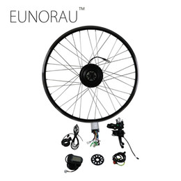 Wholesale 36v Bicycle Conversion Kit - EUNORAU 36V500W rear wheel cassette hub motor 20'' 26'' 28'' Electric bicycle motor Conversion Kit
