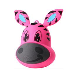 Wholesale Kids Mini Music Player - High Quality kids toys Mini Cartoon Roller Bluetooth Speaker Stereo Music Receiver Music Player MP3 Speaker tumbler Outdoor Portable Speaker