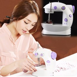 Wholesale Household Sewing Machine Electric - Tailor Small Household Electric Mini Multifunction Portable Sewing Machine