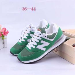 Wholesale B Letters - HOT SELLING new Unisex women men's letter Sport Shoes Sneakers Running Shoes Couple Men Women Sneakers running shoes size eur 36-44