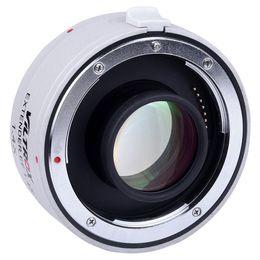 Wholesale Eos 5d Mark - Viltrox Auto Focus EF 1.4x Extender Teleconverter Optical Glass Support Full Frame Lens Adapter for Canon EOS 5D 7D Mark II III 6D 550D 70D