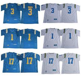 2019 vacaciones de fútbol 2017 UCLA Bruins College jerseys de fútbol 3 Josh Rosen 1 Soso Jamabo Darnay Holmes 17 Brett Hundley Gibbs Holiday Molson Pabico Jerseys vacaciones de fútbol baratos