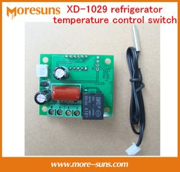 Температурная плита онлайн-Wholesale-220V 5A XD-1029 refrigerator temperature control switch,adjustable display temperature controller/thermostat control board