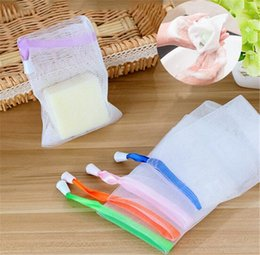 Wholesale Wholesale Prices For Products - Wholesale Foaming Bath Soap Saver Lather Net for Facial NEW PRODUCT low price free Shipping H795