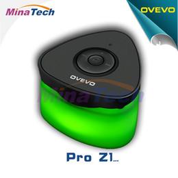2019 bluetooth lumière intelligente En gros- 2016 OVEVO Fantasy Pro Z1 Bluetooth 4.0 Mini Lumière Smart Focus LED Haut-parleur Lumière Intelligente LED Lampe de Nuit Bouton Écran Bouton promotion bluetooth lumière intelligente