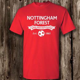 Nottingham Forest Footballeur Fan Hommes Femmes T Shirt - Vêtements Présentés Cartoon Imprimer Manches Courtes T Shirt Livraison Gratuite ? partir de fabricateur