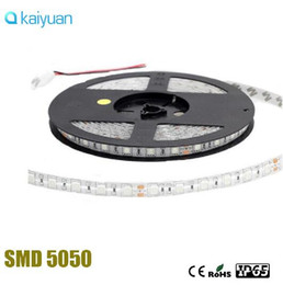 Wholesale Super Bright Rgb Led Strips - Super Bright DC 24V LED Strip Flexible Lights SMD 5050 300LED 5M Lampada LED Light Tape Ribbon Lamp Warm White White Blue Red RGB strips