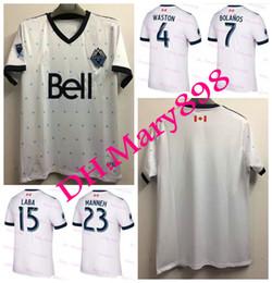 Wholesale Canada Soccer - Top Thai quality 2017 2018 Vancouver Whitecaps jerseys 17 18 Canada Whitecaps soccer jerseys WASTON football shirt