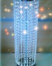 Centerpieces do candelabro para casamentos on-line-Peças centrais de candelabro de mesa lindo para casamentos
