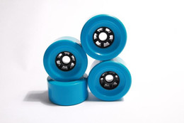 Wholesale Wheels Wholesale Prices - Wholesale cheap price electrical skateboard wheels blue single diver electrical skateboard wheels