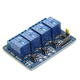Wholesale Module Pic - 12V 4 Channel Relay Module with Optocoupler PIC AVR 51 ARM for Single Chip