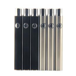 batteria della penna a vape variabile della vape Sconti 2017 Preriscaldamento Batteria 350mah vs Touch Vape O penna Variable Voltage 4.1-3.9-3.7v Preriscaldare la batteria del vaporizzatore dell'olio