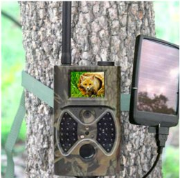 Wholesale Free Mp Games - HC-300M Trail Hunting Camera Photo Trap MMS SMS GSM GPRS 12MP HD Wild Camouflage Vedio Game Cameras with 36 Pcs IR LEDs free shipping