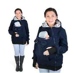 chaqueta de invierno mujeres embarazadas Rebajas NUEVAS llegadas Chaqueta portadora de bebé Canguro Ropa de abrigo abrigos abrigos de las mujeres embarazadas Chaquetas de invierno Mujeres calientes Chaquetas de bebé
