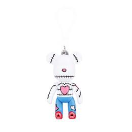 Wholesale Momo Red - Genuine violence bear MOMO bear of 3 inch Pendant doll Keychain Cartoon Keychain Bag Ornaments Pendant Gifts Kids Toys Doll