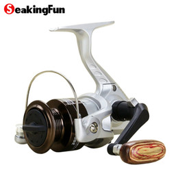 Wholesale SeaKingFun Mini Spinning Fishing Reel BB High Speed Fishing Coil Reel Wheel Full Metal Spool Spinning Fishing Reel Tackle