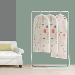 Wholesale Dustproof Storage Protector Cover - Thicken Cloth Dust Guard Kids Loose Suit coat Dirt Shroud Transparent Clothing Dustproof Bag Travel Protector Storage Bags Cover 4 8gn H R