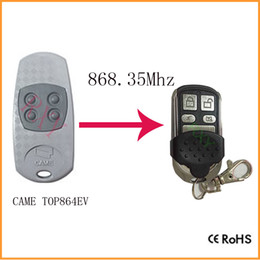 Wholesale Garage Door Remote Duplicator - Wholesale- Duplicator CAME TOP864EV 868.35mhz remote control for garage door