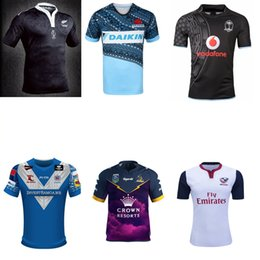 Wholesale ALL BLACKS Anniversary WARATAHS PASIFIKA rugby jerseys Samoa Pacific FIJI jerseys Melbourne Storm Auckland s rugby shirts