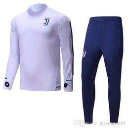 Wholesale New Clothes Men - TOP quality 17 18 NEW soccer training suit 2017 2018 Higuain Dybala Marchisio Pianic tracksuit Sportswear Set skinny jogging clothing