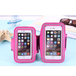 """Wholesale Arm Band Protector Case - WaterProof Arm band Sport Outdoor Gym Running Armband Protector Soft pouch Case Cover For iphone 6 7 plus 5.5"""" 5.8 inch For S8 8 Edge"""