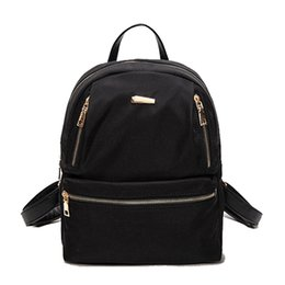 Wholesale Korean Boys Dressing - New Spring Small Women Backpack Fashion Youth Korean Style Shoulder Bag Laptop Backpack School Bags for Teenager Girls and Boys